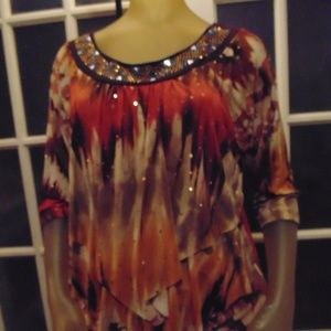 NWT Brittany Black top
